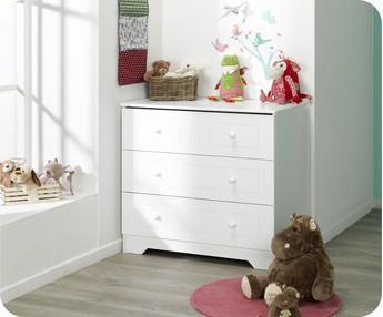 Comprar cambiador para c moda oslo color blanco - Comoda cambiador bebe ...